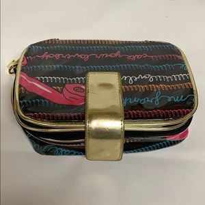 Betsey Johnson Small Cosmetic Bag